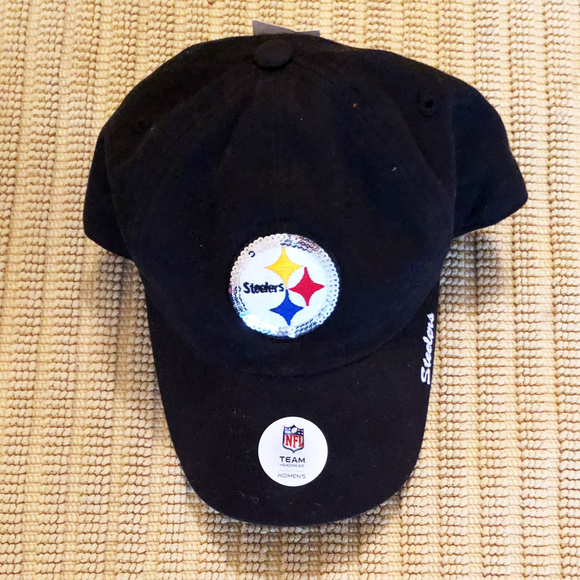 80f145ce63247 NFL Pittsburgh Steelers cap womens adjustable NWT. NWT. NFL Team Apparel